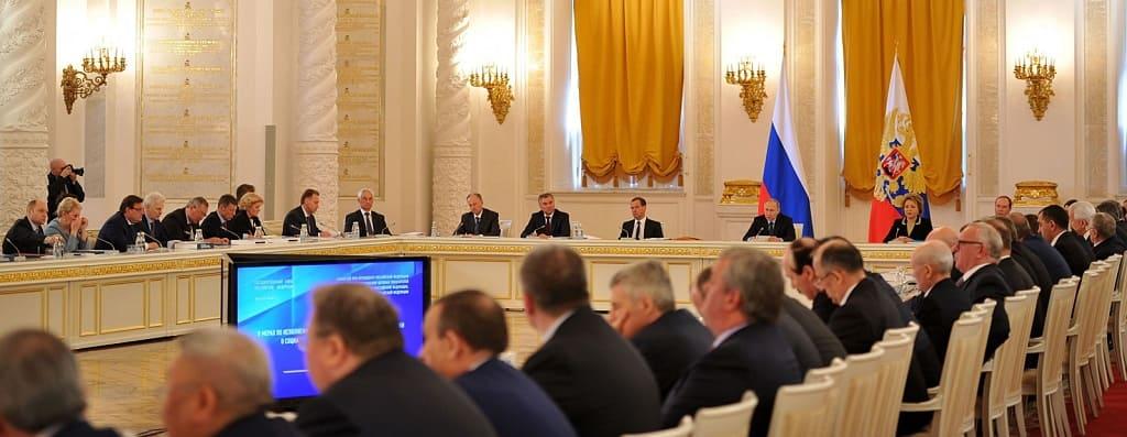 Донской губернатор Василий Голубев вошел в новый состав Госсовета РФ
