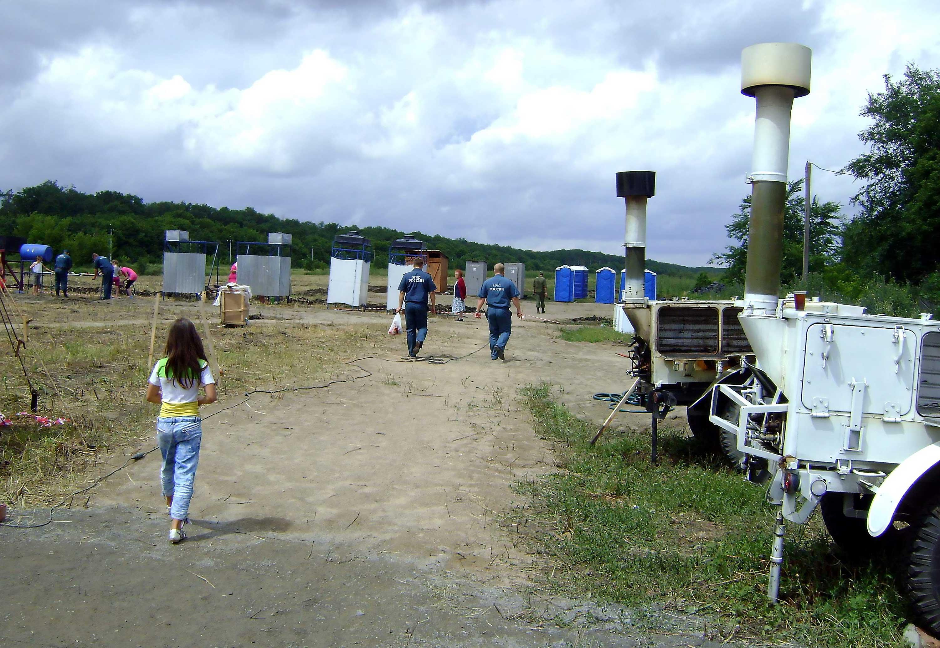 Лагерь беженцев в гуково фото 4