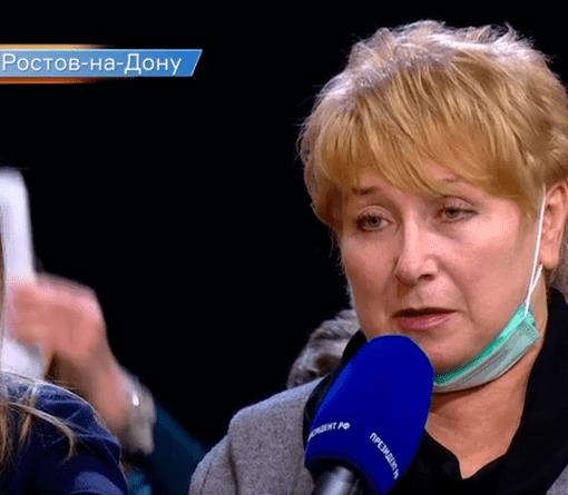Председатель РОО СЖР спросила Путина про цены и газету «Вперед»