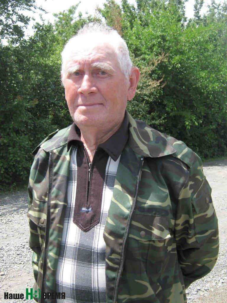 Владимир Сальников хорошо помнит, как освобождали его хутор.